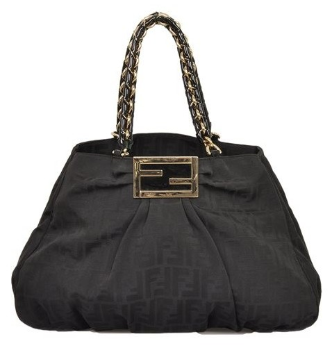 Fendi - Canvas Shoulder Bag