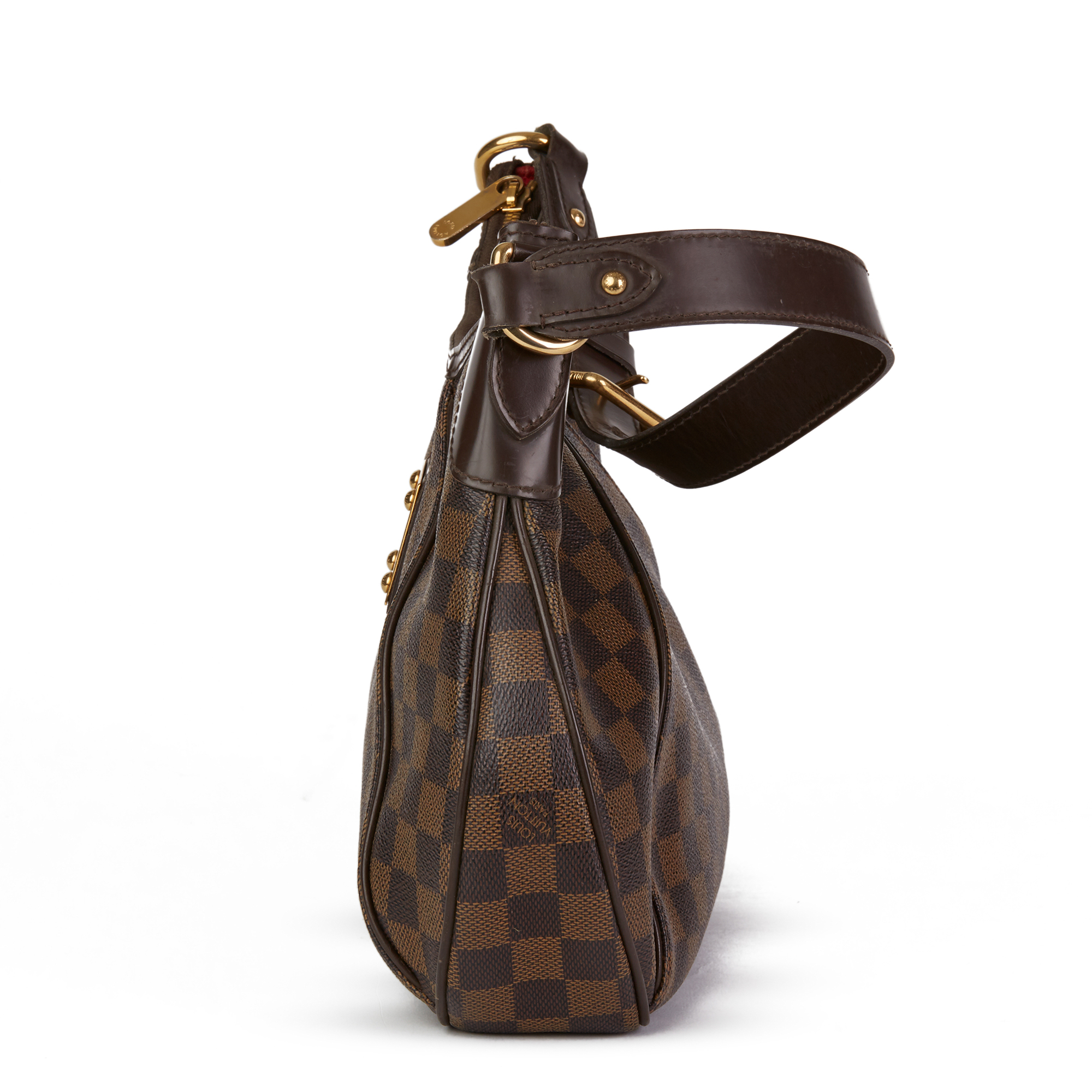 Louis Vuitton Brown Damier Ebene Monogram Coated Canvas Thames PM - Image 9 of 10