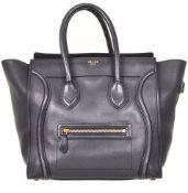 Celine - Medium Luggage Leather Hand Bag
