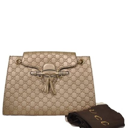 Gucci - Guccisima Emily Large Leather Shoulder Bag - Image 7 of 7