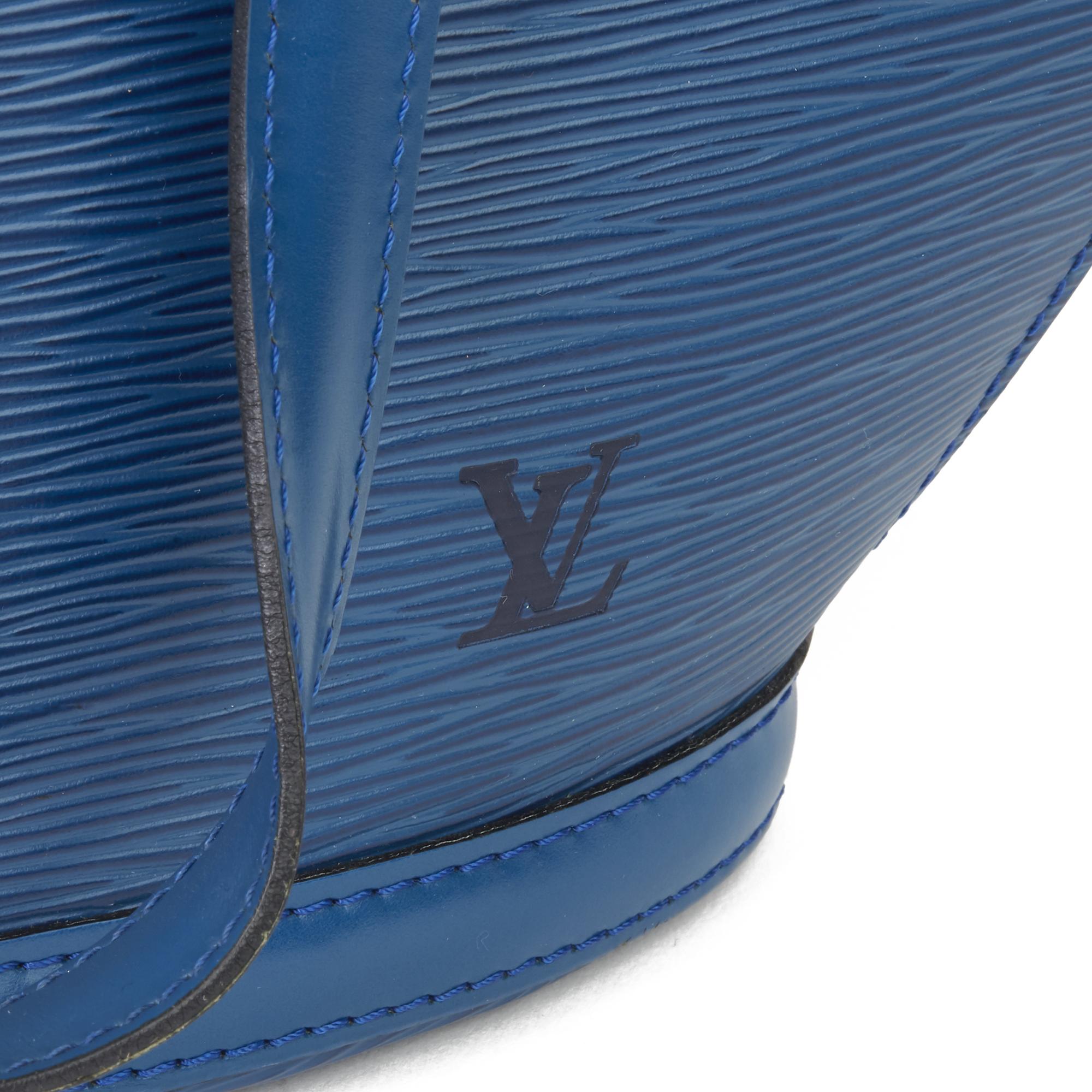 Louis Vuitton Blue Epi Leather Vintage Saint Jacques PM - Image 6 of 11