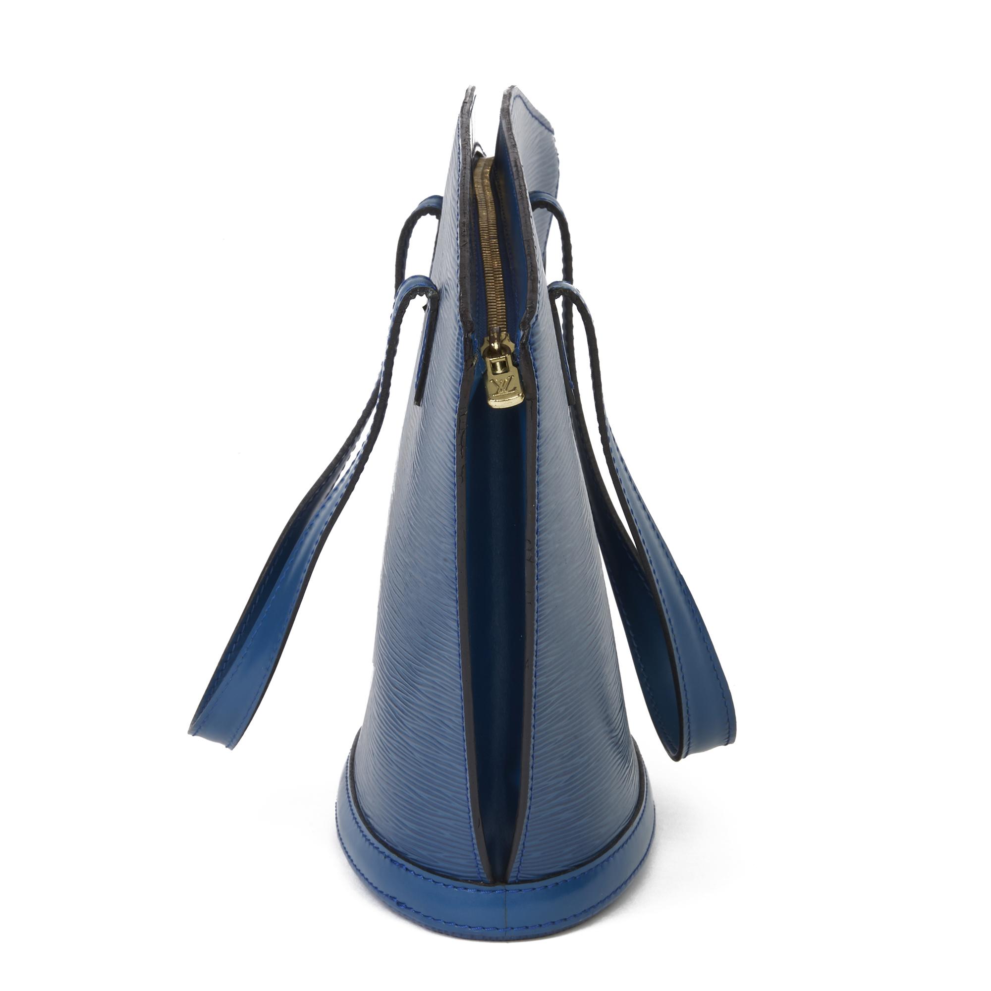 Louis Vuitton Blue Epi Leather Vintage Saint Jacques PM - Image 10 of 11
