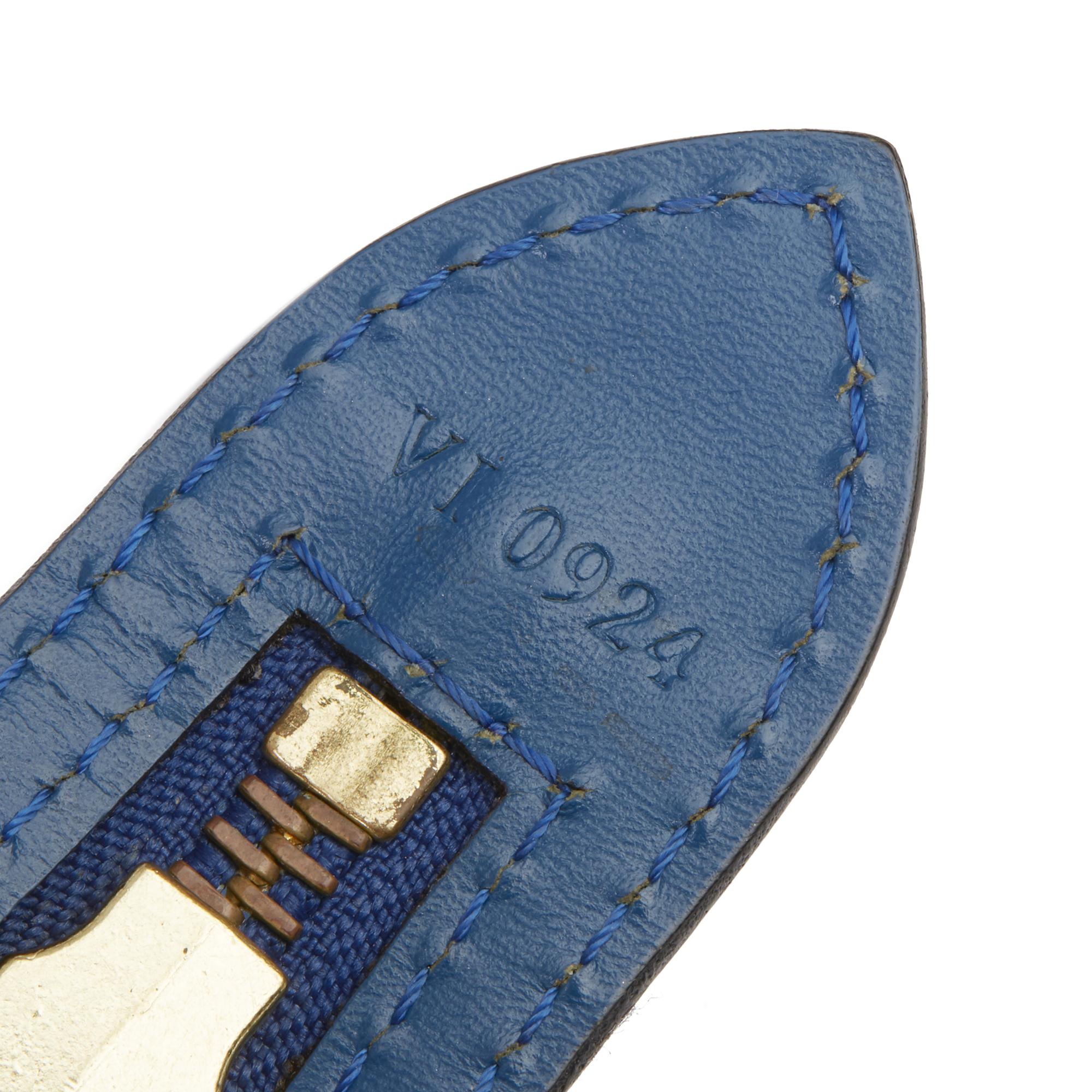 Louis Vuitton Blue Epi Leather Vintage Saint Jacques PM - Image 4 of 11