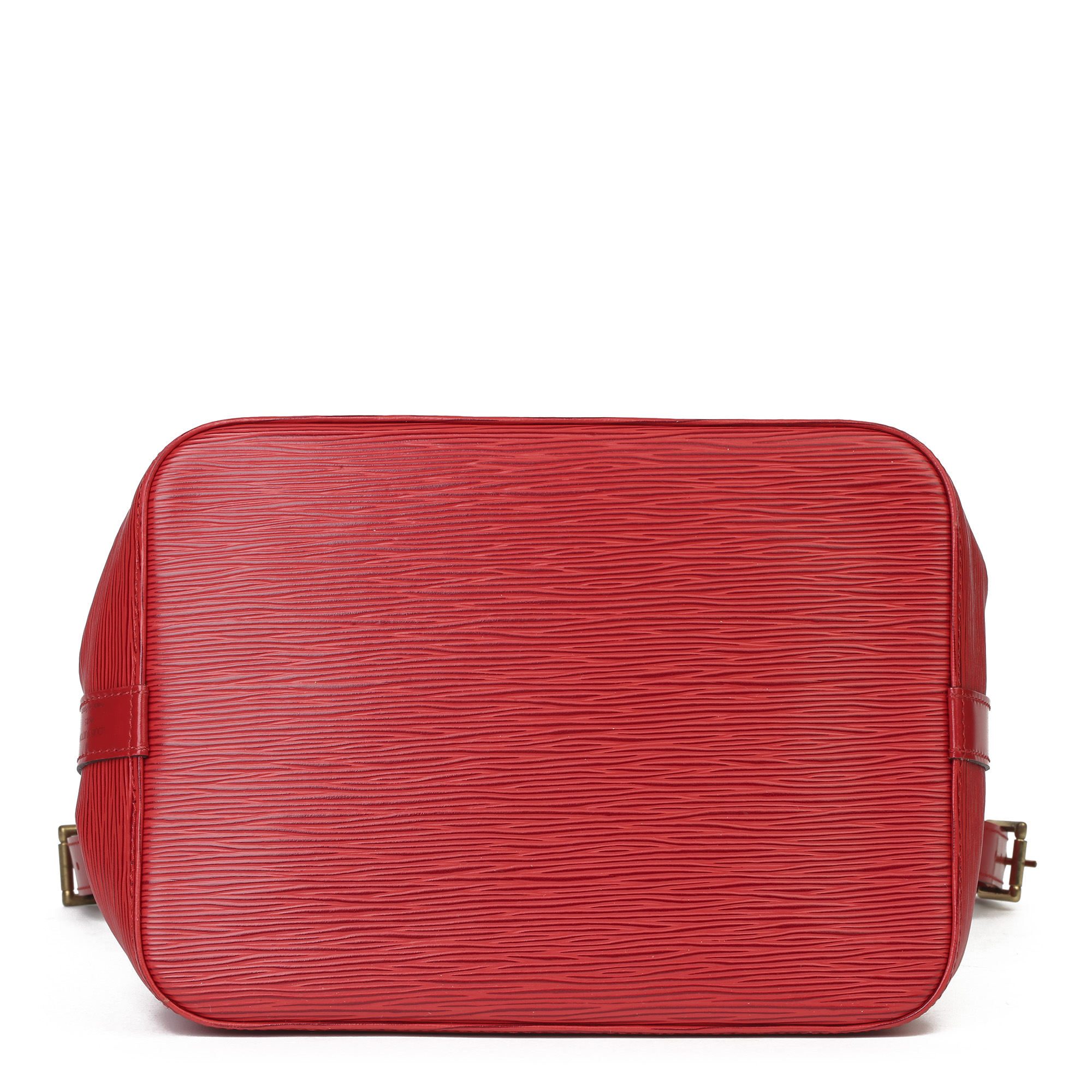 Louis Vuitton Red Epi Leather Vintage Petit NoŽ - Image 8 of 11