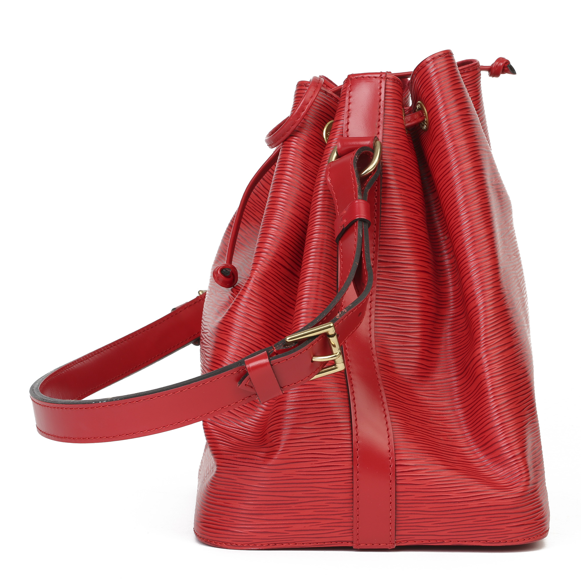 Louis Vuitton Red Epi Leather Vintage Petit NoŽ - Image 10 of 11