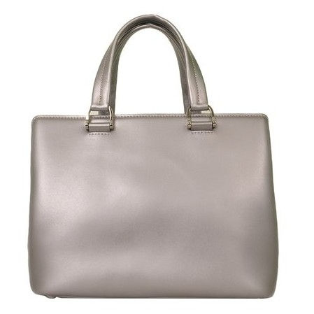 Longchamp - Shiny Leather Shoulder Bag - Image 5 of 5