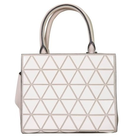 Victoria Beckham - Mini Trõangle soft Tote leather hand bag - Image 3 of 6