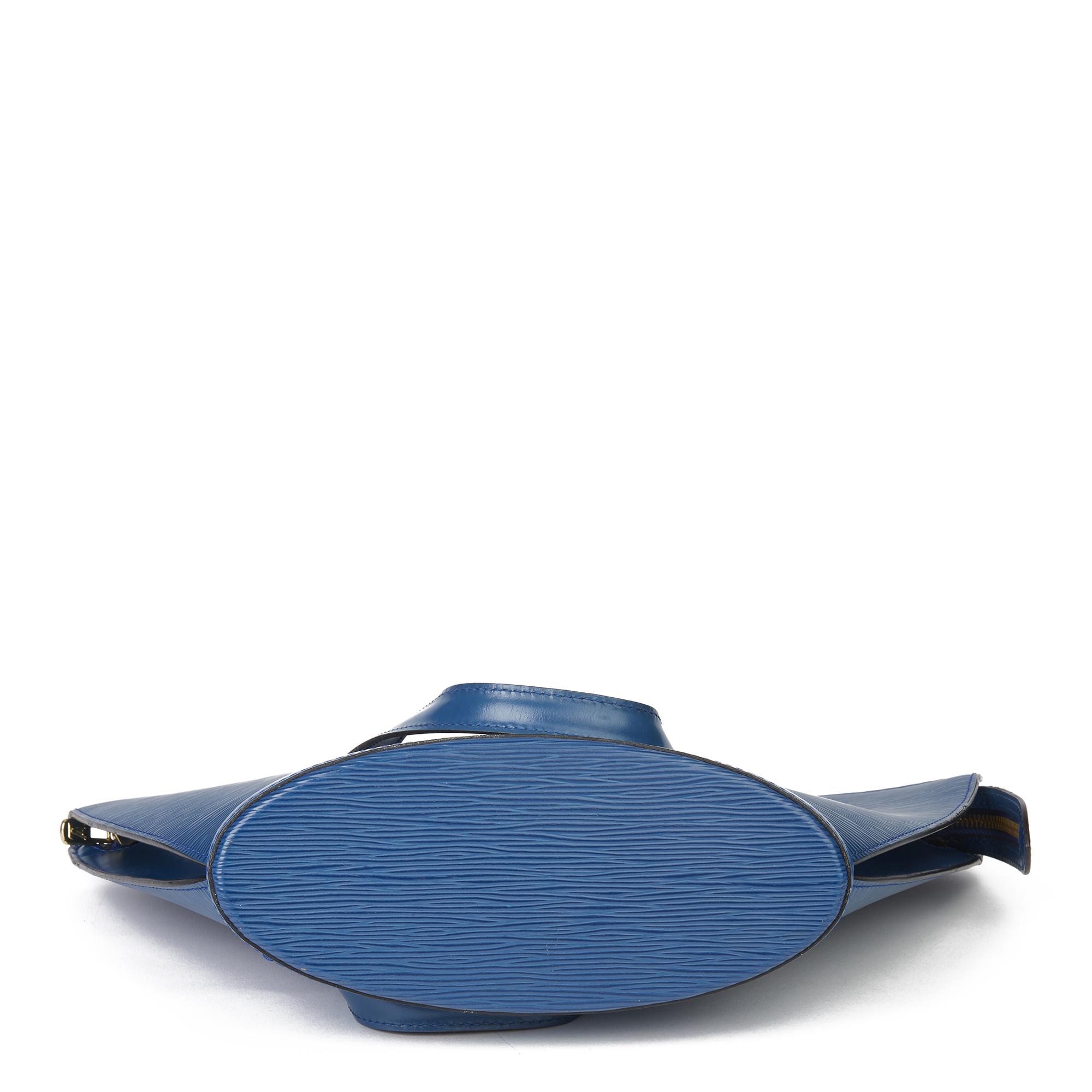 Louis Vuitton Blue Epi Leather Vintage Saint Jacques PM - Image 8 of 11