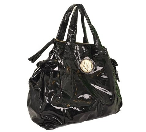 Gucci - Patent Leather Shoulder Bag - Image 3 of 6