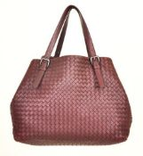 Bottega Veneta - Intrecciato Nappa Large Tote Leather Shoulder Bag