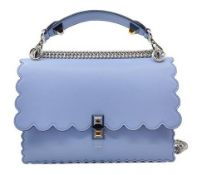 Fendi - Kan I Medium Leather Shoulder Bag