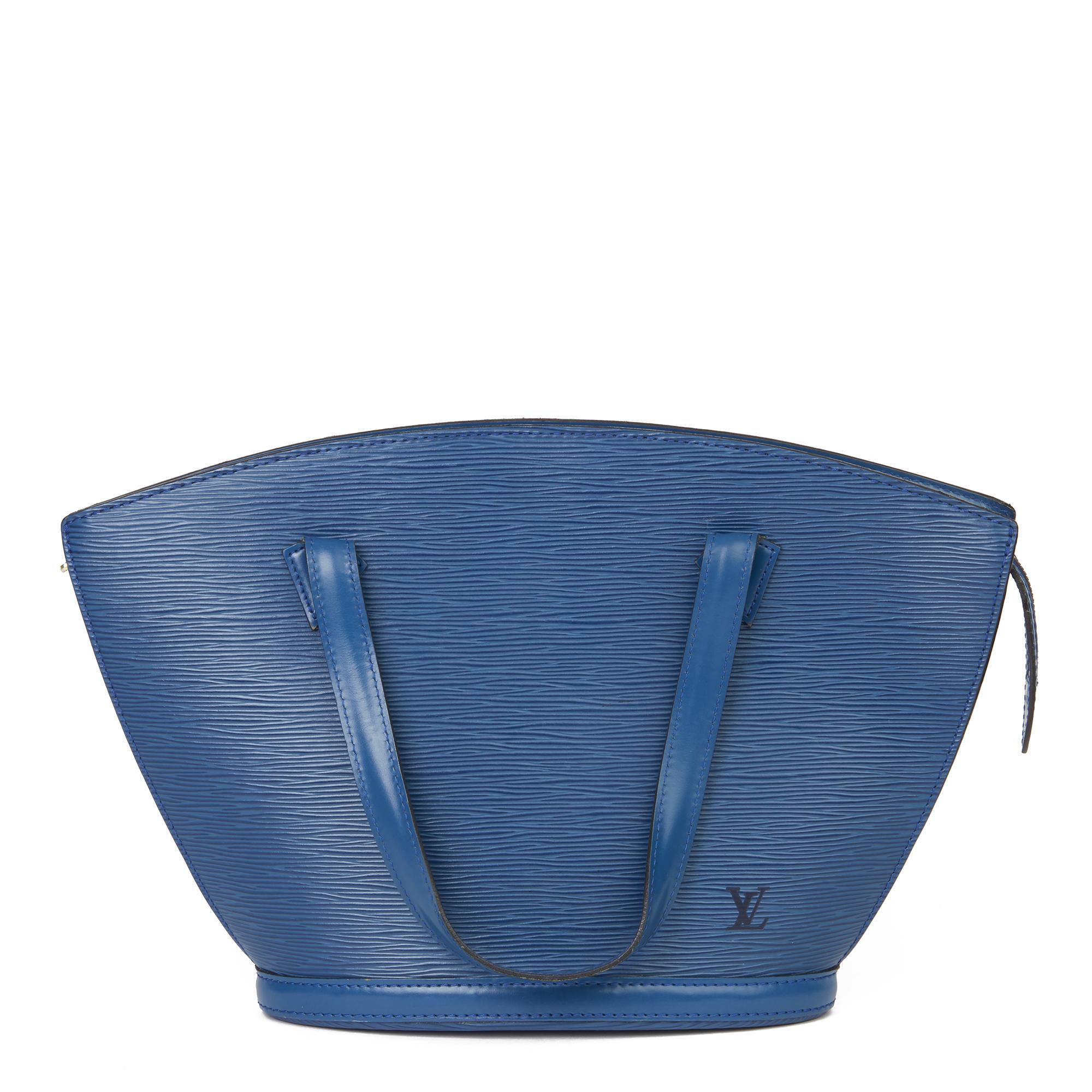 Louis Vuitton Blue Epi Leather Vintage Saint Jacques PM