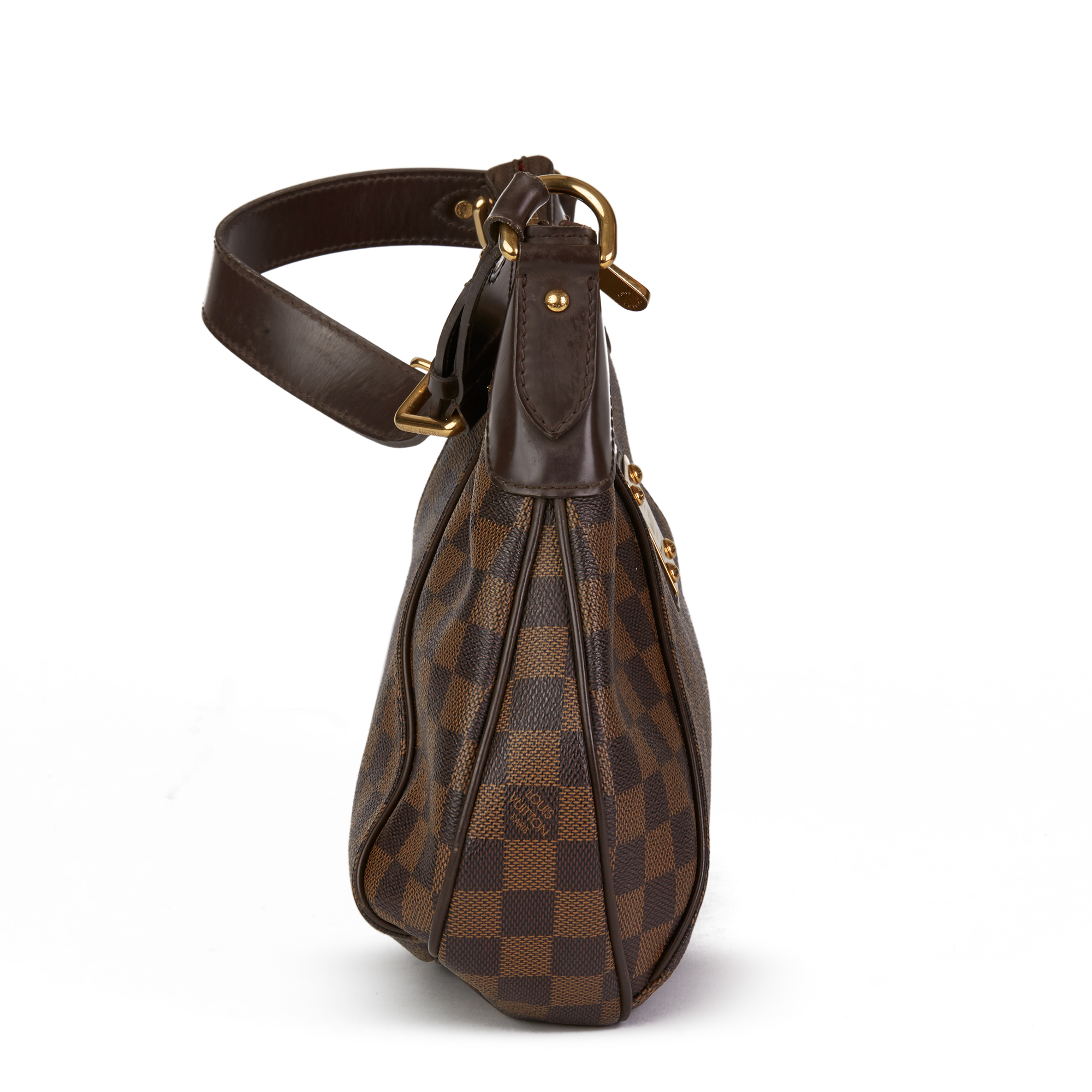 Louis Vuitton Brown Damier Ebene Monogram Coated Canvas Thames PM - Image 10 of 10