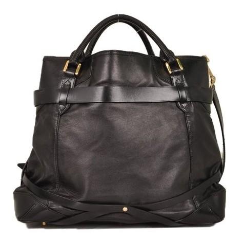 Burberry - Leather Shoulder Bag - Image 6 of 6