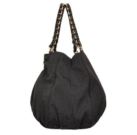 Fendi - Canvas Shoulder Bag - Image 5 of 6