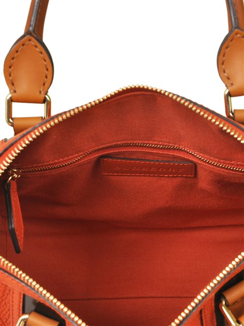 Burberry - Alchester Bowling Medium Leather Hand Bag - Image 6 of 6