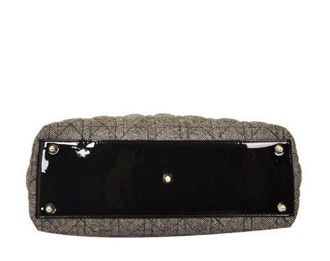Christian Dior - Lady Dior Denim Large Hand Bag - Image 3 of 5