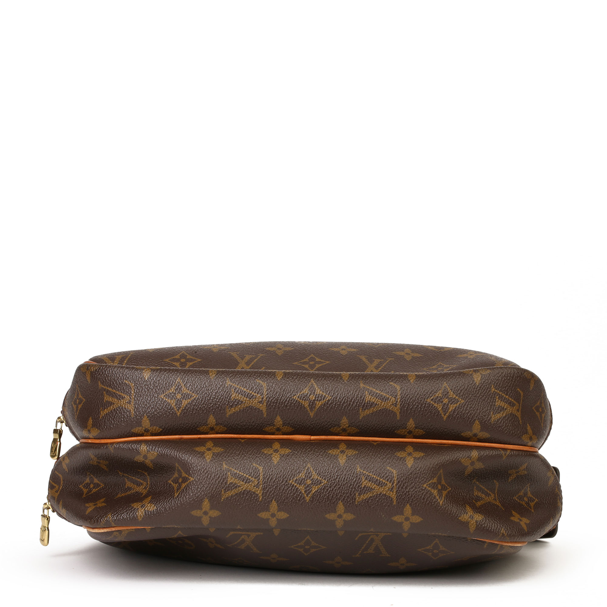 Louis Vuitton Brown Monogram Coated Canvas Vintage Reporter PM - Image 8 of 11