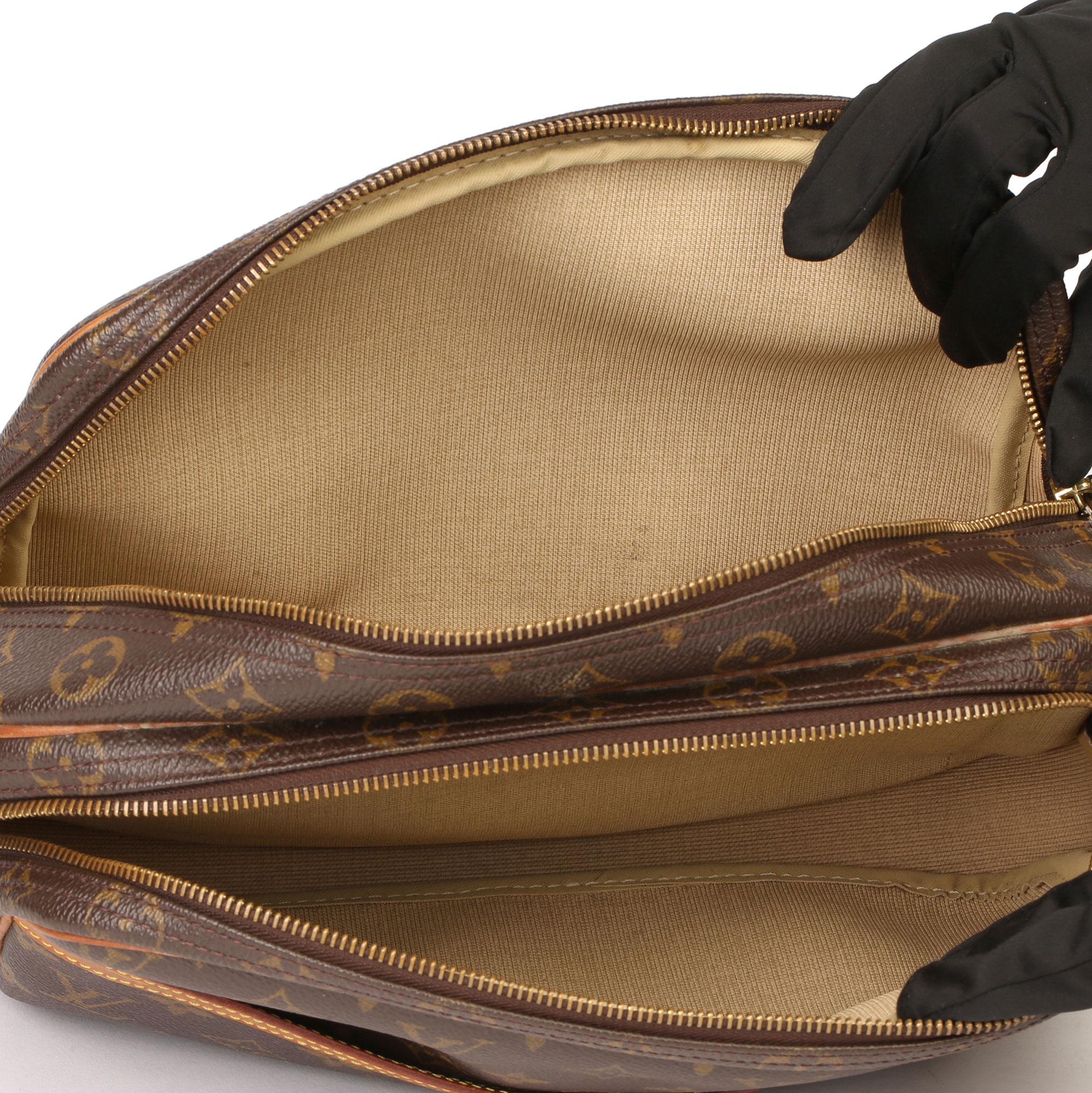 Louis Vuitton Brown Monogram Coated Canvas Vintage Reporter PM - Image 3 of 11