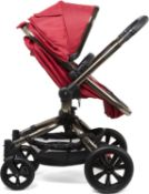 Mothercare Refurbished Orb Baby Pram Pushchair Berry All Terrain RRP £199.99