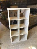 Light Wood Book Shelves Unit