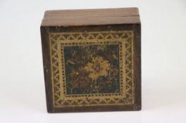 C19th tunbridgeware box