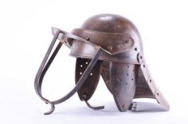 A Civil war style lobster tailed helmet or Zishagge
