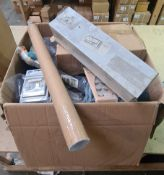 KNIGHTSBRIDGE SAMSUNG FIBARO OSRAM - 28 Items - RRP £390 - P142