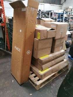 Pallet of MADE.com Home Furnishings Returns - RRP £784