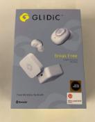 Glidic Sound Air Tw-5000S True Wireless Earbuds - Brand New Still Sealed - White