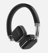 Harmon Kardon Soho On-Ear Wireless Bluetooth Headphones - Black - Factory Re-Certified