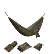 Vonhaus Single Travel Hammock With Heavy Duty Straps