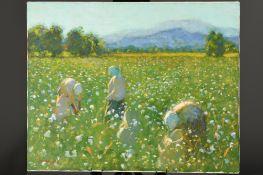 Wonderful Original oil on Canvas by John Mackie