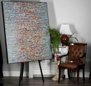 Stunning Large Contemporary Original Oil on Canvas