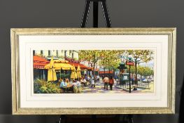 Original Painting of Paris by English Artist Anthony Orme
