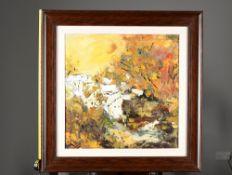 Signed Original Impressionist Oil on Canvas