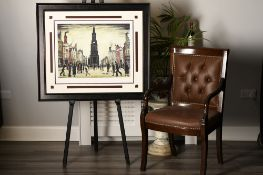"""L.S.. Lowry Limited Edition ä""""The Market Place"""" Berwick upon Tweed"""