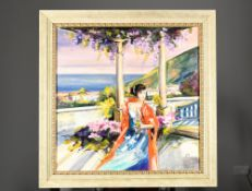 Colourful Original Oil Painting by the Artist Gera