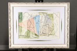 """Pablo Picasso Limited Edition Original Lithograph """"Joueur De Flute et Gazelle"""""""