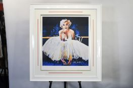 """Stunning Framed Limited Edition by Sidney Maurer """"Iconic Reflections"""" (Marilyn Monroe)"""