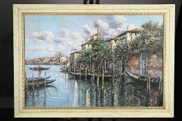 Original Italian Oil on Canvas of Venice.