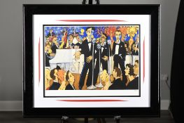 "Wonderfully Framed Limited Edition by Marsha Hammel ""Vegas"""
