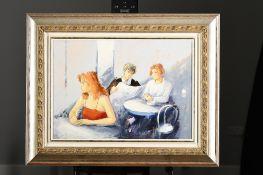 Original Painting by Italian Artist Trombini