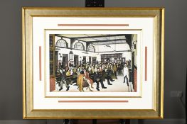 """L.S.. Lowry Limited Edition """"Ancoats Hospital Outpatients' Hall, 1952"""""""
