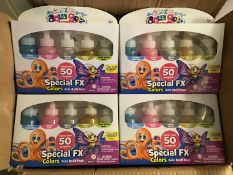 Aqua gel 50 special fx 5 glitter colour pack