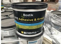 2 x bostik a175 adhesive & grout for tiling