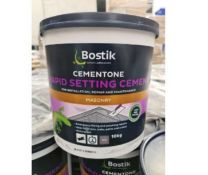 2 x bostik cementone rapid setting cement