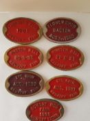 1980's Heavy Metal Country Fair Plaques