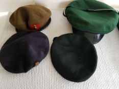 Military Caps and Buttons