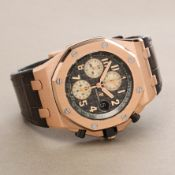 Audemars Piguet Royal Oak Offshore 26470.OR.OO.A125CR.01 Men Rose Gold Chronograph Watch